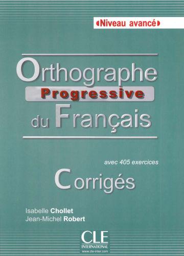 Cover Orthographe progressive du français, Niveau avancé 978-3-12-525755-9 Französisch