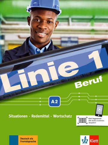 Cover Linie 1 Beruf A2 978-3-12-607082-9 Deutsch als Fremdsprache (DaF)