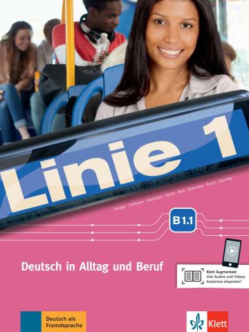 Cover Linie 1 B1.1 (Combined Half Edition) 978-3-12-607090-4 Deutsch als Fremdsprache (DaF)