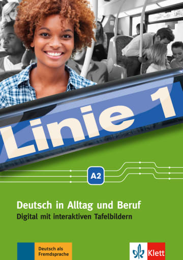 Cover Linie 1 A2 digital 978-3-12-607077-5 Deutsch als Fremdsprache (DaF)