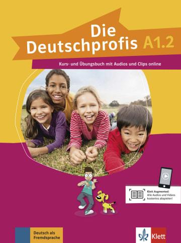 Cover Die Deutschprofis A1.2 978-3-12-676477-3 Deutsch als Fremdsprache (DaF)