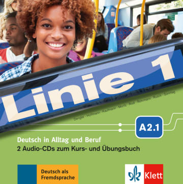 Cover Linie 1 A2.1 978-3-12-607071-3 Deutsch als Fremdsprache (DaF)
