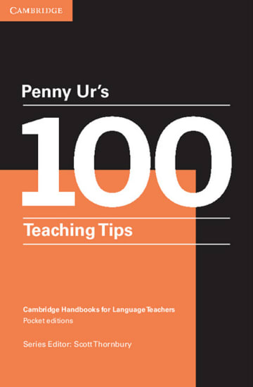 Cover Penny Ur's 100 Teaching Tips 978-3-12-535406-7 Englisch