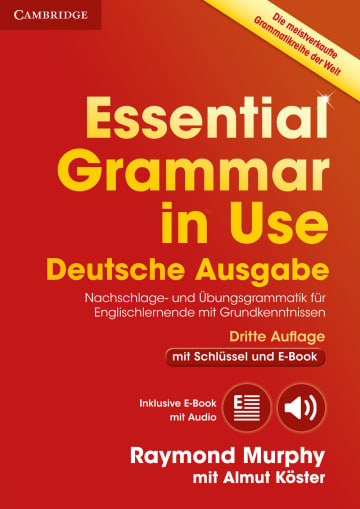 Cover Essential Grammar in Use 978-3-12-535403-6 Englisch