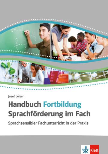 Cover Handbuch Fortbildung Sprachförderung im Fach 978-3-12-666859-0 Deutsch als Zweitsprache (DaZ)