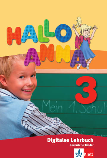 Cover Hallo Anna 3 978-3-12-676057-7 Deutsch als Fremdsprache (DaF)