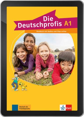 Cover Die Deutschprofis A1 - Interaktive Tabletversion 978-3-12-676478-0 Deutsch als Fremdsprache (DaF)