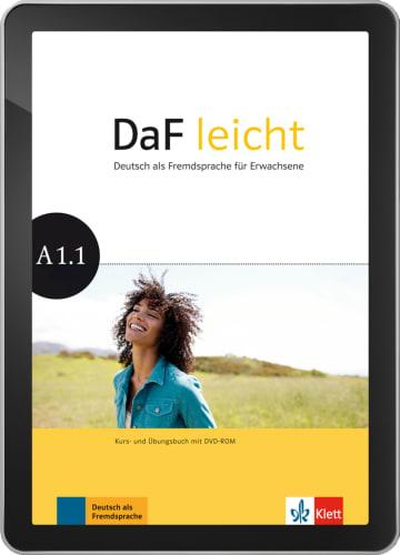 Cover DaF leicht A1.1 978-3-12-676266-3 Deutsch als Fremdsprache (DaF)
