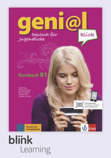 Cover geni@l klick B1 - Digitale Ausgabe mit LMS NP01160506901 Deutsch als Fremdsprache (DaF),Deutsch als Zweitsprache (DaZ)