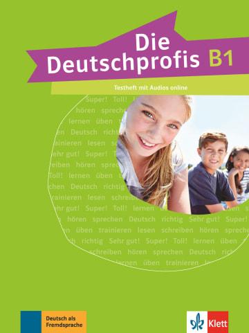 Cover Die Deutschprofis B1 978-3-12-676499-5 Deutsch als Fremdsprache (DaF)