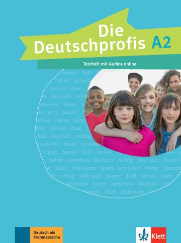 Cover Die Deutschprofis A2 978-3-12-676498-8 Deutsch als Fremdsprache (DaF)