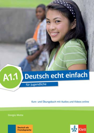 Cover Deutsch echt einfach A1.1 978-3-12-676522-0 Deutsch als Fremdsprache (DaF)
