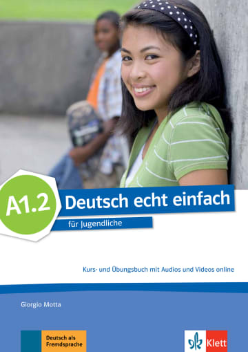 Cover Deutsch echt einfach A1.2 978-3-12-676523-7 Deutsch als Fremdsprache (DaF)