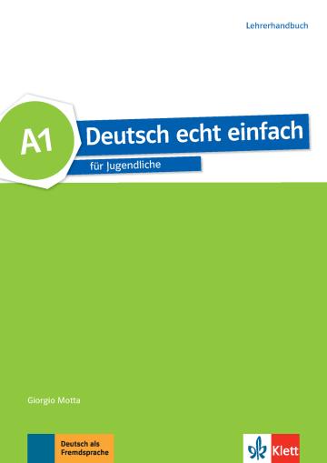 Cover Deutsch echt einfach A1 978-3-12-676524-4 Deutsch als Fremdsprache (DaF)