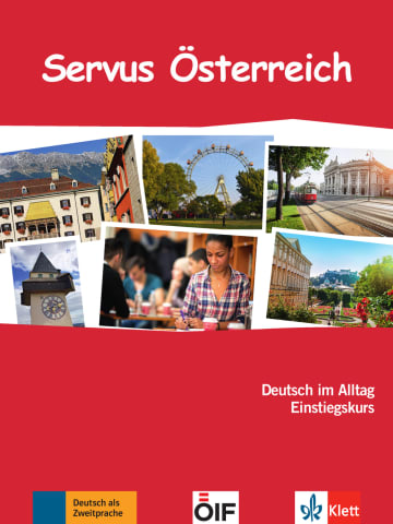 Cover Servus Österreich 978-3-12-605310-5 Deutsch als Zweitsprache (DaZ)