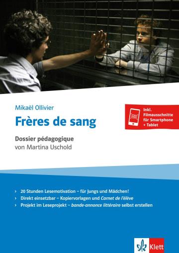 Cover Frères de sang - Dossier pédagogique 978-3-12-599194-1 Martina Uschold, Mikaël Ollivier Französisch