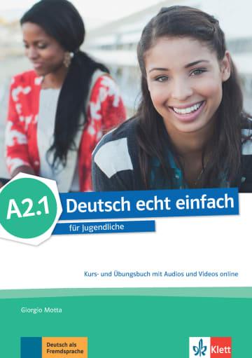 Cover Deutsch echt einfach A2.1 978-3-12-676528-2 Deutsch als Fremdsprache (DaF)