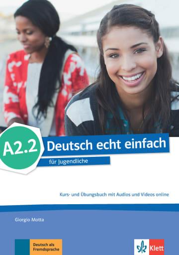 Cover Deutsch echt einfach A2.2 978-3-12-676529-9 Deutsch als Fremdsprache (DaF)