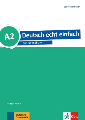 Cover Deutsch echt einfach A2 978-3-12-676530-5 Deutsch als Fremdsprache (DaF)