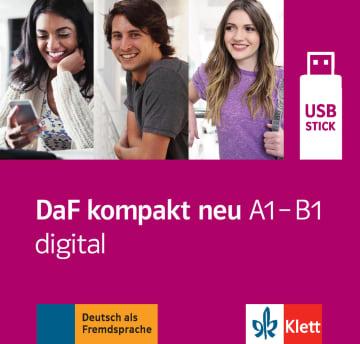 Cover DaF kompakt neu A1 - B1 digital 978-3-12-676319-6 Deutsch als Fremdsprache (DaF)