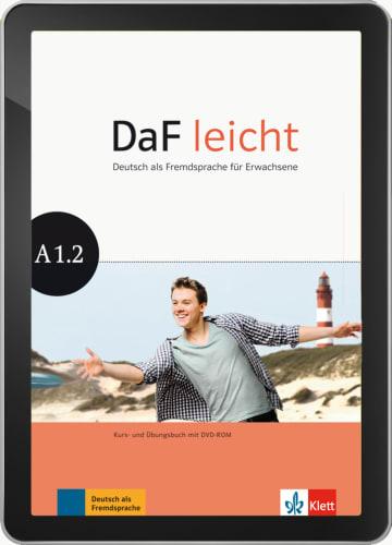 Cover DaF leicht A1.2 978-3-12-676267-0 Deutsch als Fremdsprache (DaF)