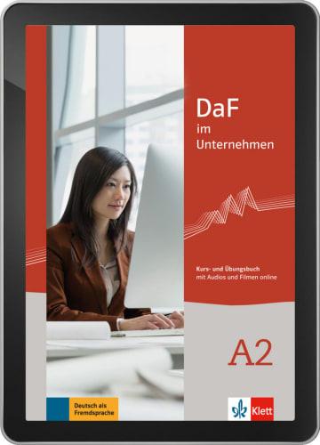 Cover DaF im Unternehmen A2 978-3-12-676449-0 Deutsch als Fremdsprache (DaF),Deutsch als Zweitsprache (DaZ)