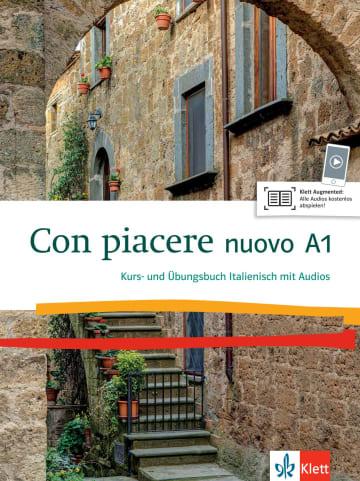 Cover Con piacere nuovo A1 978-3-12-525201-1 Italienisch