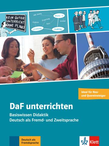 Cover DaF unterrichten 978-3-12-675308-1 Deutsch als Fremdsprache (DaF),Deutsch als Zweitsprache (DaZ)