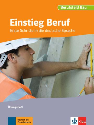 Cover Berufsfeld Bau 978-3-12-676167-3 Deutsch als Fremdsprache (DaF)