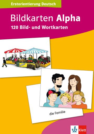 Cover Bildkarten Alpha 978-3-12-676048-5 Deutsch als Fremdsprache (DaF)