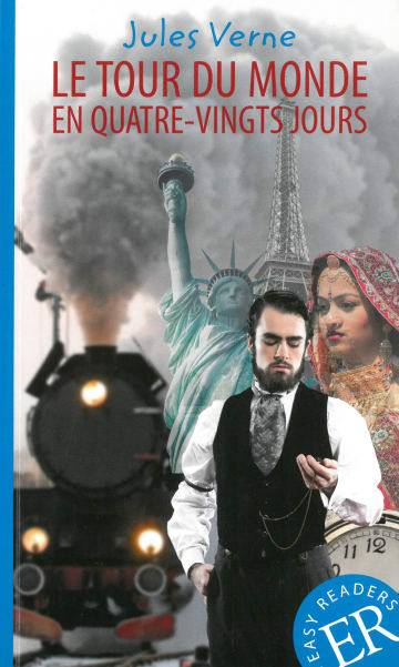 Cover Le tour du monde en quatre-vingts jours 978-3-12-599444-7 Jules Verne Französisch