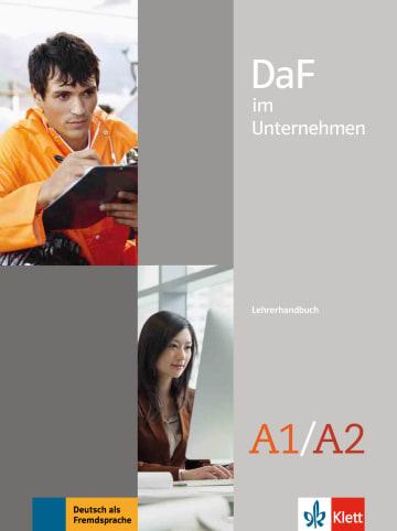 Cover DaF im Unternehmen A1-A2 978-3-12-676461-2 Deutsch als Fremdsprache (DaF)