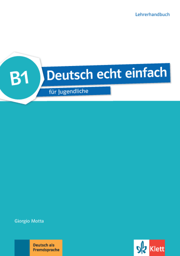 Cover Deutsch echt einfach B1 978-3-12-676536-7 Deutsch als Fremdsprache (DaF)