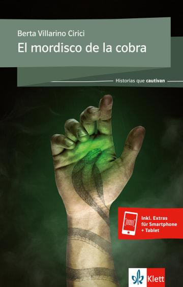 Cover El mordisco de la cobra 978-3-12-535713-6 Berta Villarino Cirici Spanisch