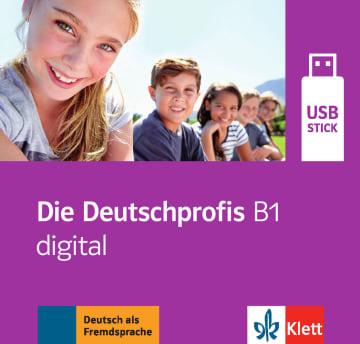 Cover Die Deutschprofis B1 978-3-12-676495-7 Deutsch als Fremdsprache (DaF)