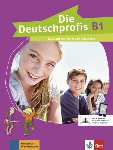 Cover Die Deutschprofis B1 978-3-12-676490-2 Deutsch als Fremdsprache (DaF)