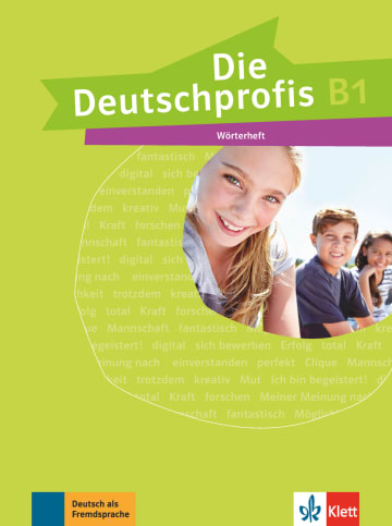 Cover Die Deutschprofis B1 978-3-12-676492-6 Deutsch als Fremdsprache (DaF)