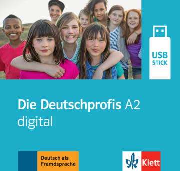 Cover Die Deutschprofis A2 digital 978-3-12-676485-8 Deutsch als Fremdsprache (DaF)