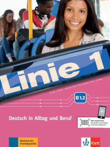 Cover Linie 1 B1.2 978-3-12-607092-8 Deutsch als Fremdsprache (DaF)