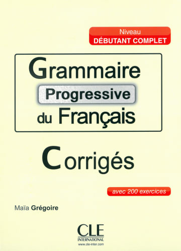 Cover Grammaire progressive du français 978-3-12-529949-8 Französisch