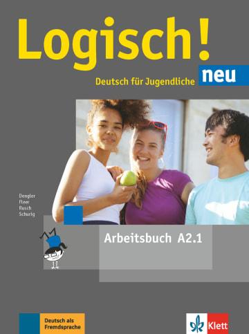 Cover Logisch! neu A2.1 978-3-12-605214-6 Deutsch als Fremdsprache (DaF),Deutsch als Zweitsprache (DaZ)