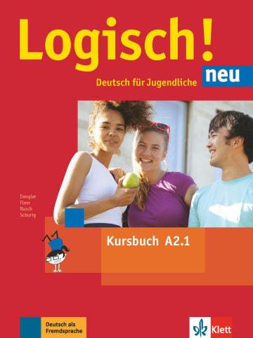 Cover Logisch! neu A2.1 978-3-12-605213-9 Deutsch als Fremdsprache (DaF),Deutsch als Zweitsprache (DaZ)