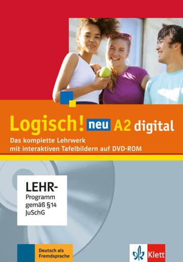 Cover Logisch! neu A2 digital 978-3-12-605220-7 Deutsch als Fremdsprache (DaF),Deutsch als Zweitsprache (DaZ)