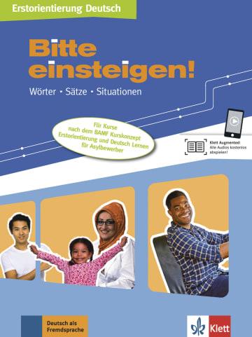 Cover Bitte einsteigen! 978-3-12-607005-8 Deutsch als Zweitsprache (DaZ)