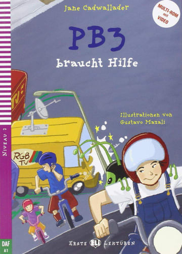 Cover PB3 braucht Hilfe 978-3-12-515015-7 Jane Cadwallader Deutsch als Fremdsprache (DaF)