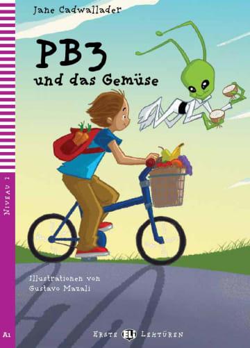 Cover PB3 und das Gemüse 978-3-12-515017-1 Jane Cadwallader Deutsch als Fremdsprache (DaF)