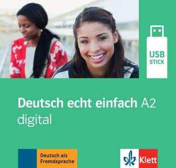 Cover Deutsch echt einfach A2 digital 978-3-12-676542-8 Deutsch als Fremdsprache (DaF)