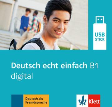 Cover Deutsch echt einfach B1 digital 978-3-12-676543-5 Deutsch als Fremdsprache (DaF)