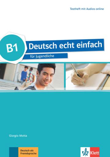 Cover Deutsch echt einfach B1 978-3-12-676540-4 Deutsch als Fremdsprache (DaF)