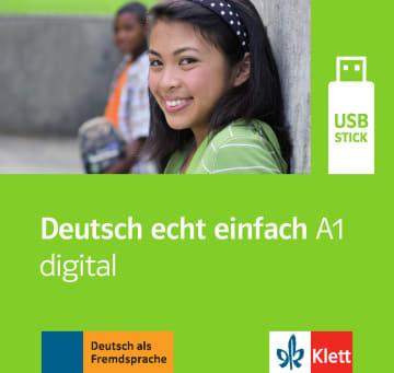 Cover Deutsch echt einfach A1 digital 978-3-12-676541-1 Deutsch als Fremdsprache (DaF)